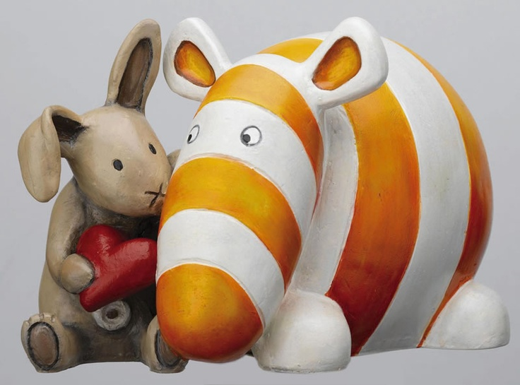 Some Bunny Loves You (Sculpture) by Peter Smith