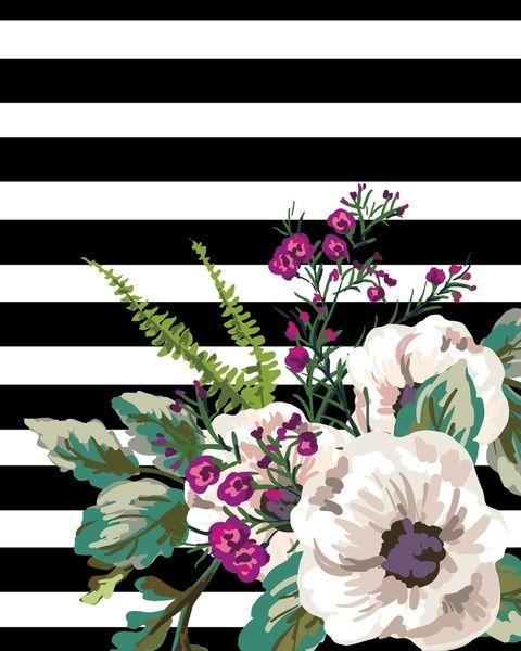 Florals Art Print by Samantha Ranlet | Society6