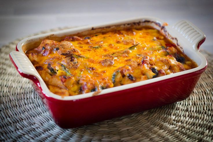 Aranka's Kookblog | Goed gevulde Mexicaanse Ovenschotel | Aranka's Kookblog