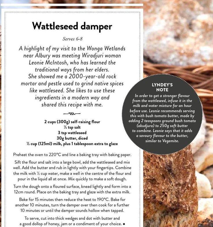 Wattleseed Damper