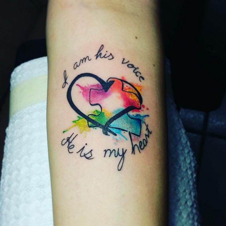 Autism Quotes For Tattoos Quotesgram: Best 25+ Autism Awareness Tattoo Ideas On Pinterest