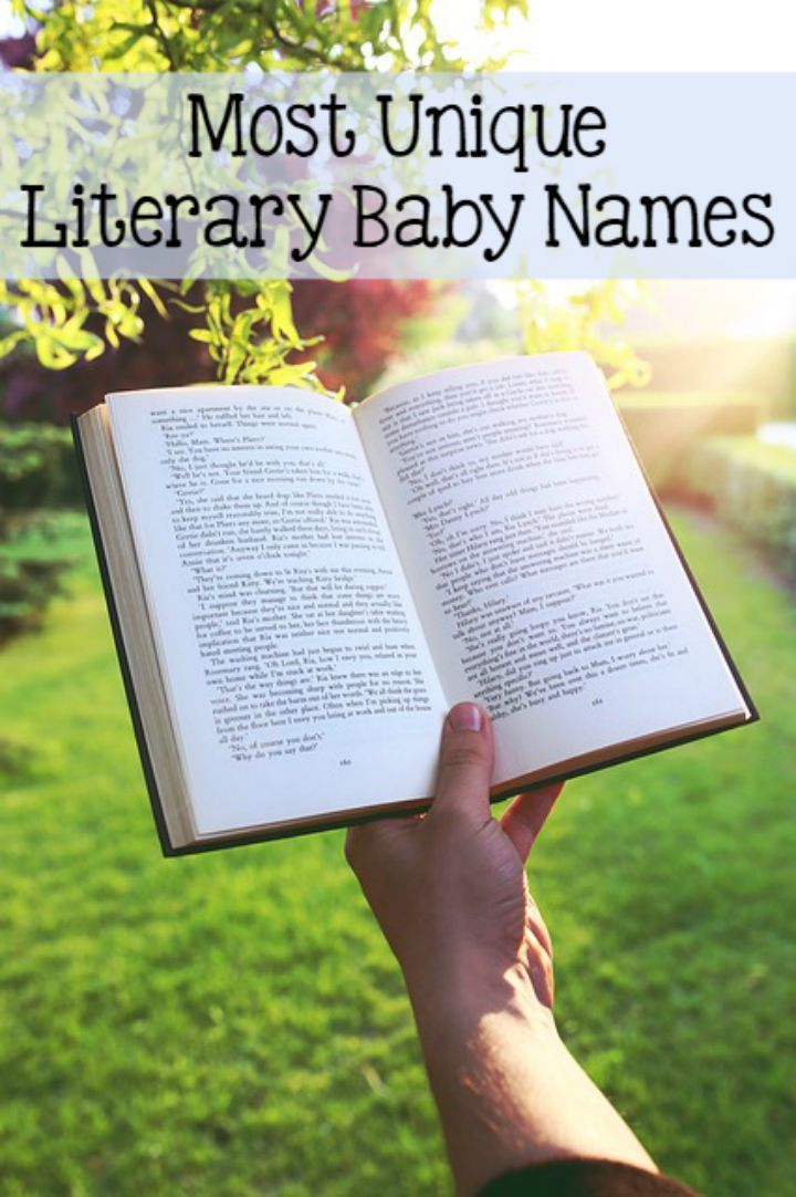 Having a hard time coming up with a good name for your baby bump? Check out our favorite unique baby names from literature for both boys and girls!