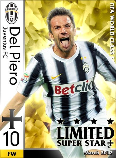 Del Piero -Juventus FC-