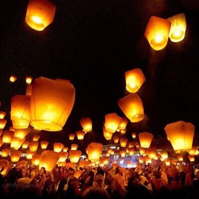 M s de 25 ideas incre bles sobre linternas del cielo para - Lamparas que den mucha luz ...