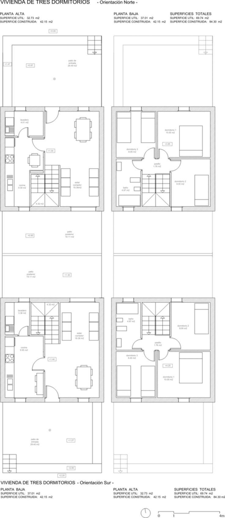 1105 best Planos de casas images on Pinterest
