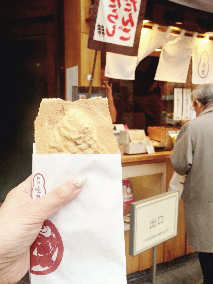 Hanetuku Taiyaki, Kanda daruma 羽根つきたい焼き、神田達磨 小川町本店