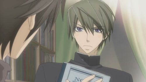 "Junjou Romantica (OVA) Usagi Akihiko ""Bitch I am offended"""