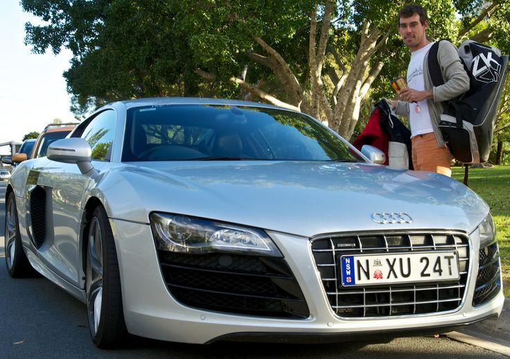 #AudiR8 & #MatBelcher Olympic Gold Medalist and Audi Ambassador.. #AudiSail #Aus11  @Audi Australia @Audi International