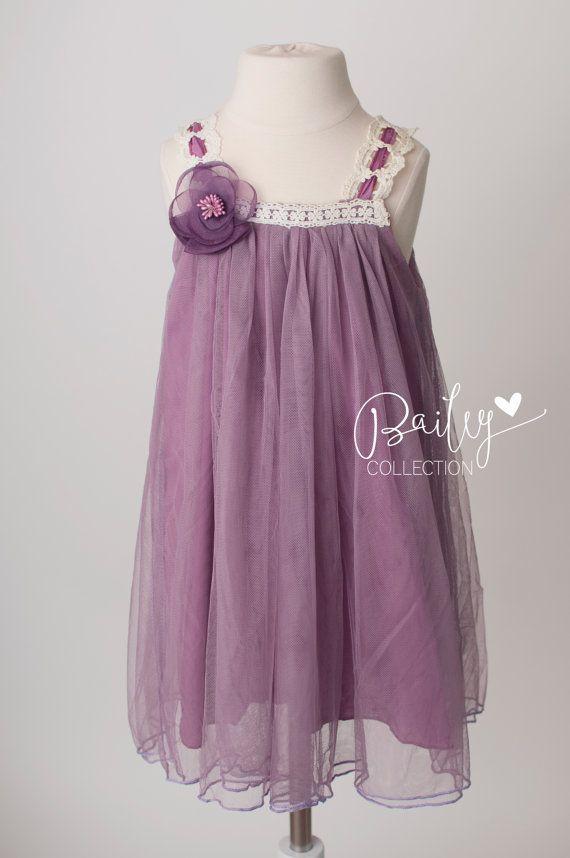 63 best Flower Girl Dresses images on Pinterest | Bridesmaid gowns ...
