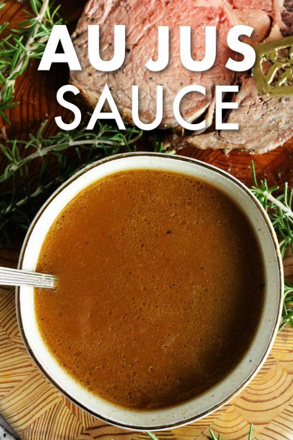 Recipe Au Jus Sauce