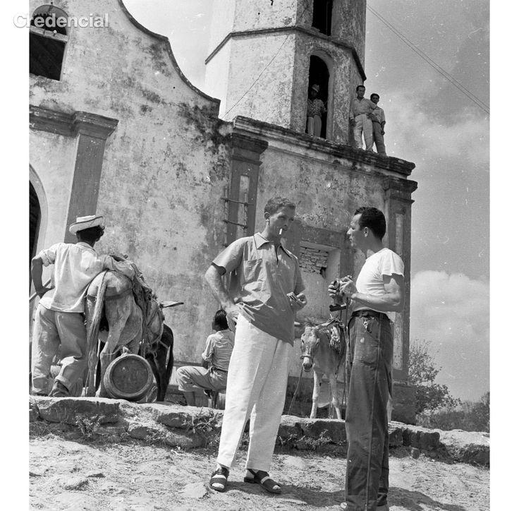 Obregon y Nereo en Usiacuri Nereo Lopez  1954