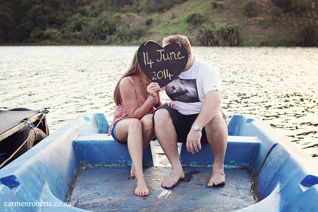 """Piece of the """"Save the Date' that went out. Such a lovely idea. - Engagement Shoot Ryan & Lizelle - Carmen Roberts Photography"""