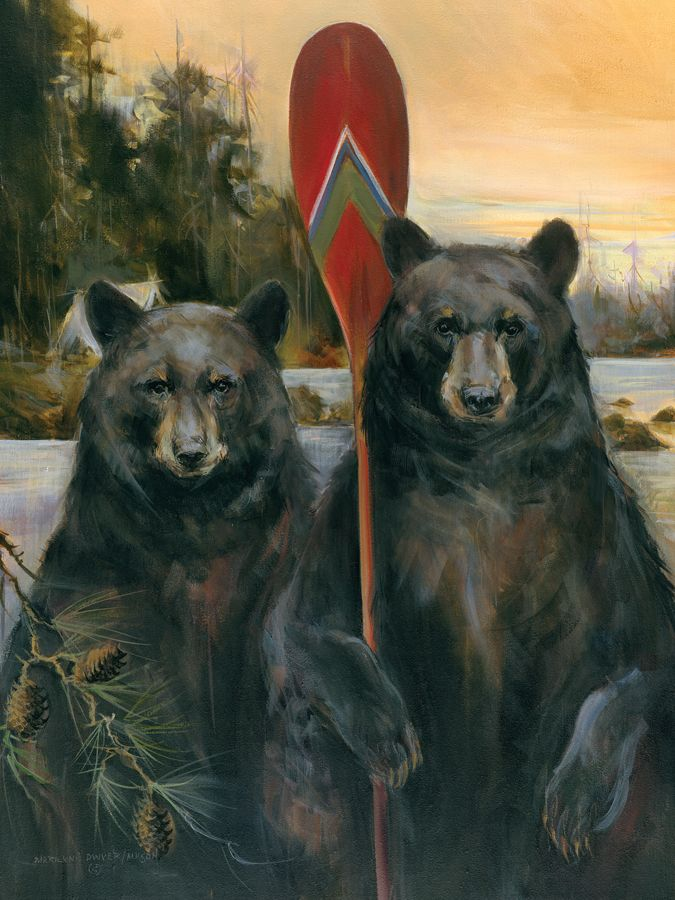 Bear American Gothic Rustic Mason Maloof Designs