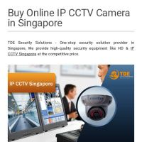 Infographic: Buy Online IP CCTV Camera in Singapore