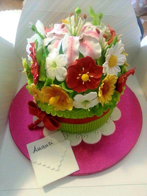 torta mazzo di fiori