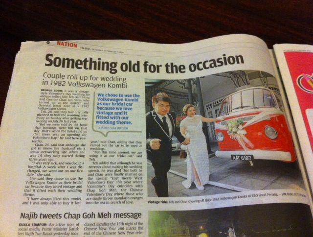 We are in the Star News paper  !!! Kombi , Volkswagen Bus