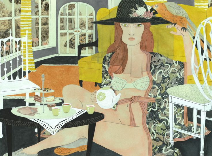 I LOVE ILLUSTRATION: Riikka Sormunen