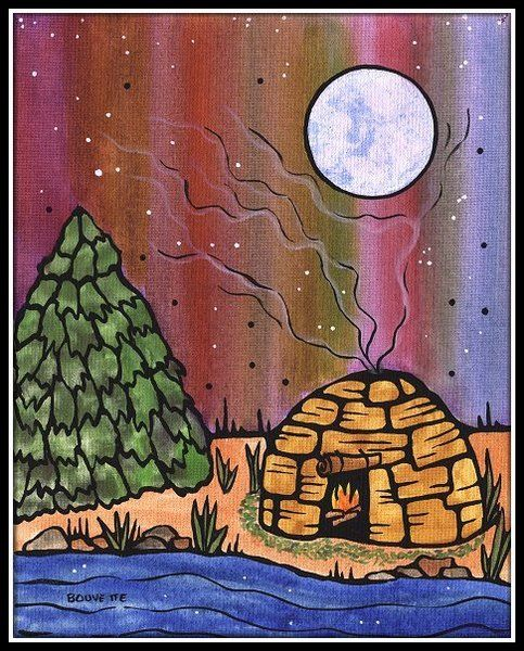 Ayla Bouvette | Ayla Bouvette - Metis Art - Moon Shelter