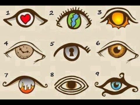 Test de personalidad: Escoge el ojo que más te guste