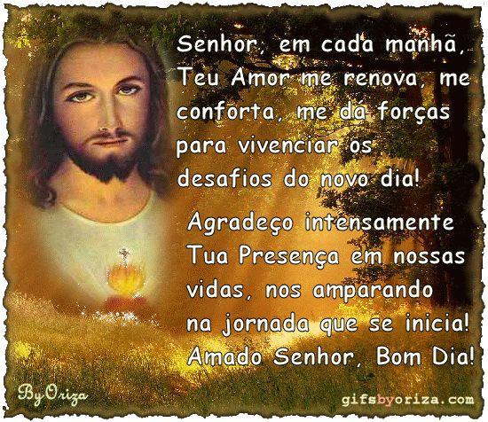 Oração De Bom Dia à Jesus.