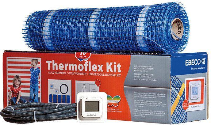 Lämpömattopaketti Thermoflex Kit 300 14,0m2 1700W ja muut tehokkaat keinot lämmittämiseen ja sulanapitoon Taloon.comista!