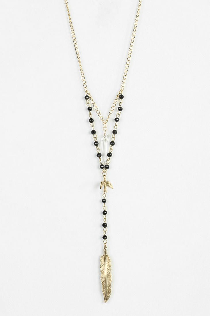Charming Rosary Necklace #urbanoutfitters