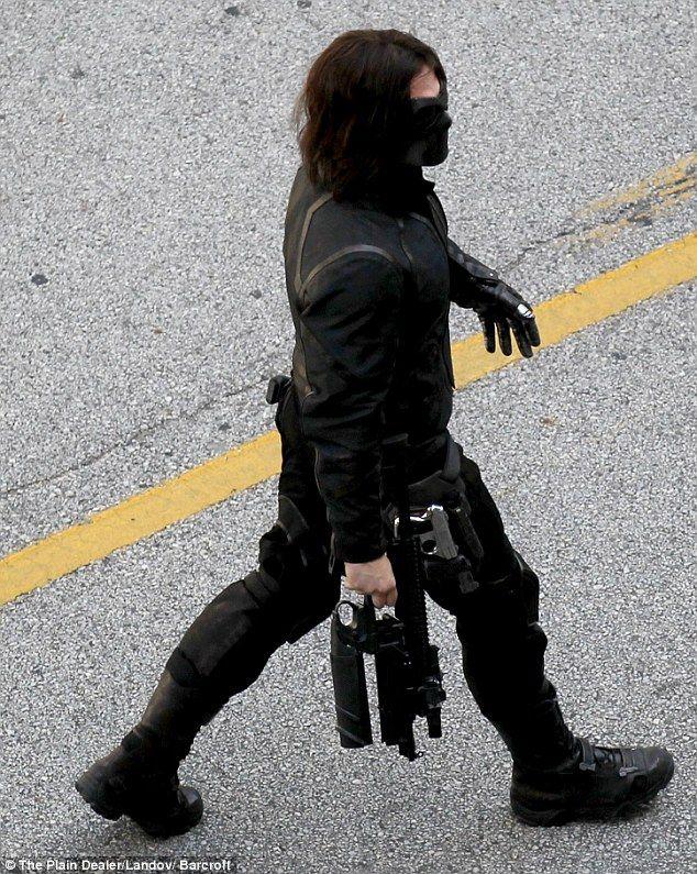 villian in the winter soldier? | Explosive debut! First glimpse of super villain The Winter Soldier on ...