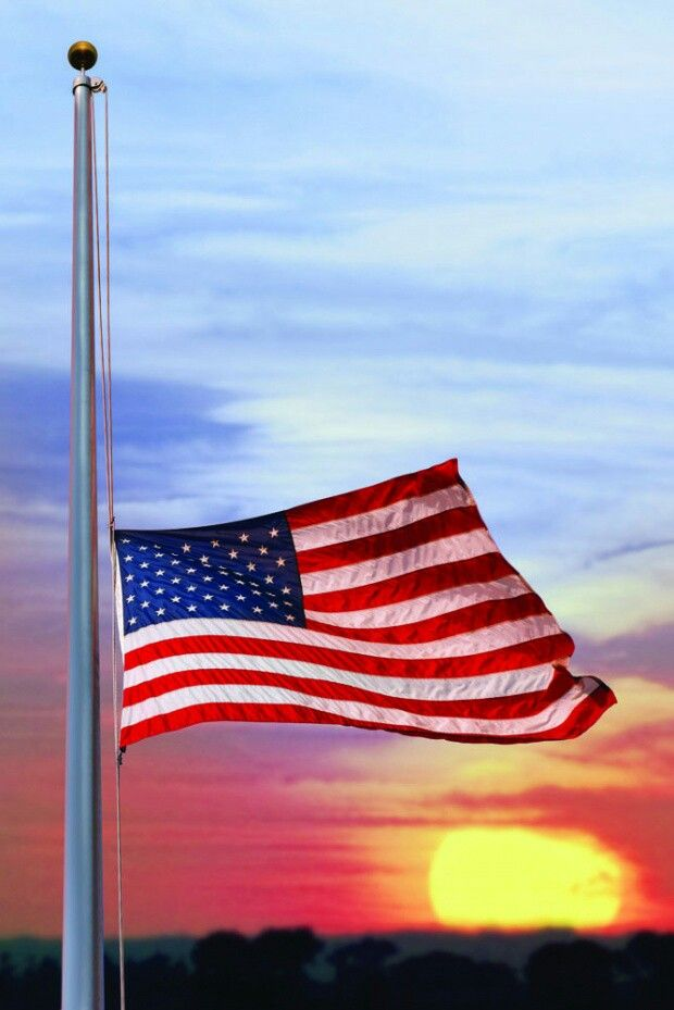 Image result for u.s. flag at half staff for los vegas shooting victims