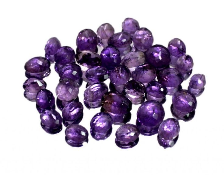 150ct /35pcs Natural Purple Amethyst Quartz Loose Gemstone Wholesale Lot
