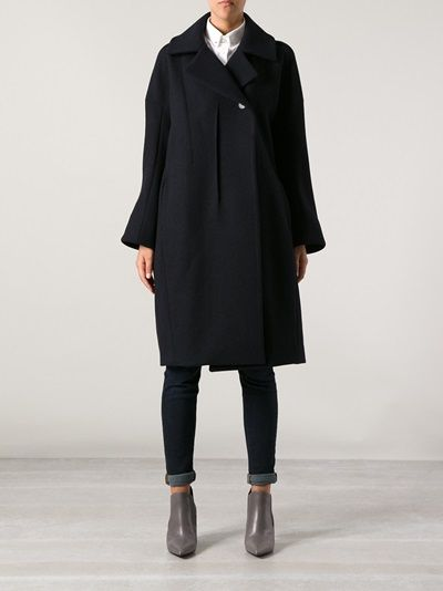JIL SANDER - structured overcoat 7