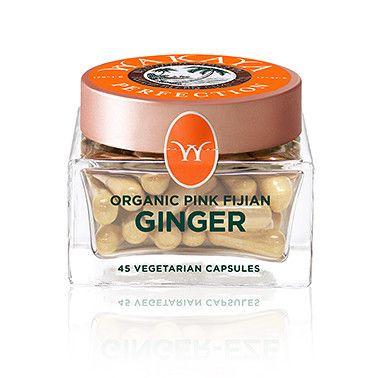 Wakaya Perfection Organic Pink Fijian Ginger Capsules