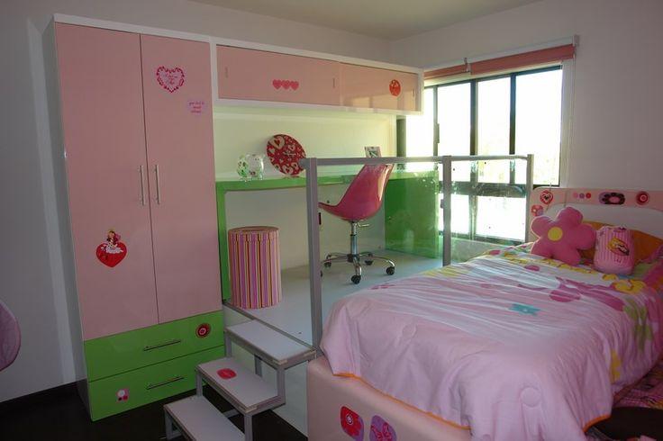 Habitaci n para ni a entrega a todo m xico dise o for Muebles habitacion infantil nina