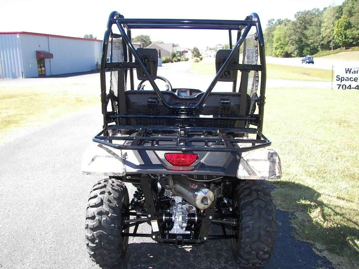 "New 2017 Honda Pioneerâ""¢ 500 Camo ATVs For Sale in North Carolina. This is a new 2017 Honda Pioneer 500. This is a unique side by side that has a rear rack instead of a bed and has a way smaller footprint than the larger side by sides and a smaller price tag than most others. New for the 2017 model SXS 500 it offeres a fully automatic transmission with the paddle shifting manuel shifting mode as well.These utility vehicles should fit many styles of ridding from working to pleasure all at a…"