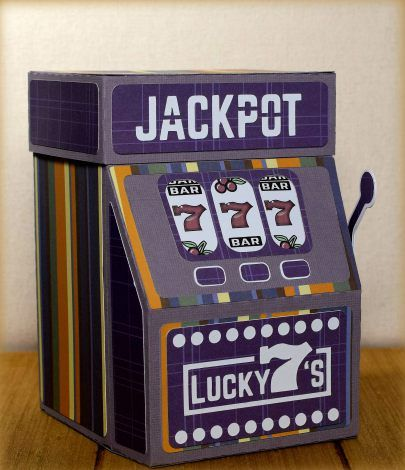 Slot Machine Gift Box