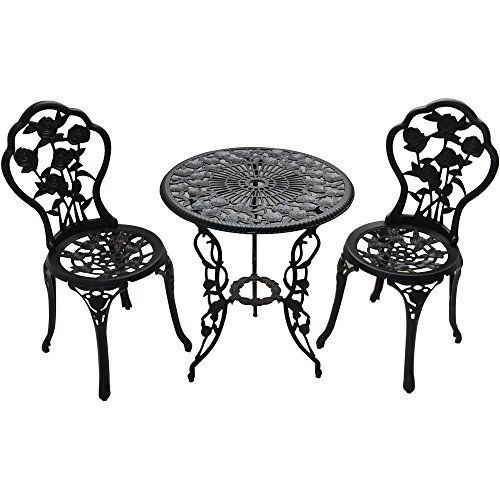 Table Chair Bistro Set Garden Outdoor Home Backyard Family Patio Furniture Yard #BetterHomesandGardens