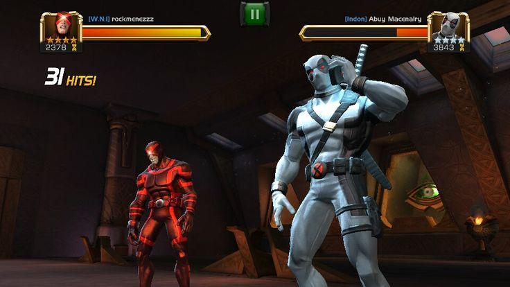Cyclop vs Deadpool X force