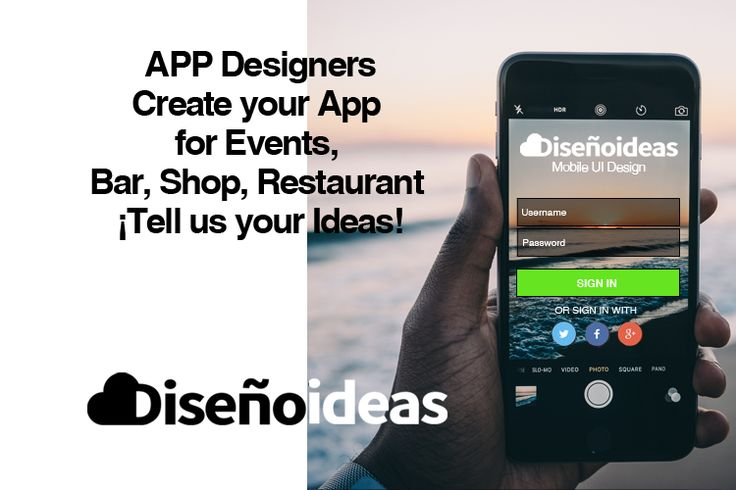 Mobile web and APP design. Create your APP for your Events, Bars, Shop and Restaurant. Contact us with your ideas and get your APP launched on ITunes & Google Play