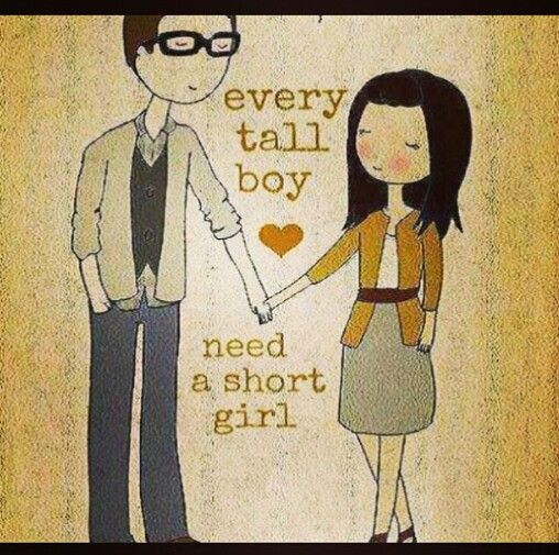 tall boy short girl dating Find and save ideas about tall boyfriend on pinterest | see more ideas about tall girl so cute short girl tall boy every short girl dating a tall guy.