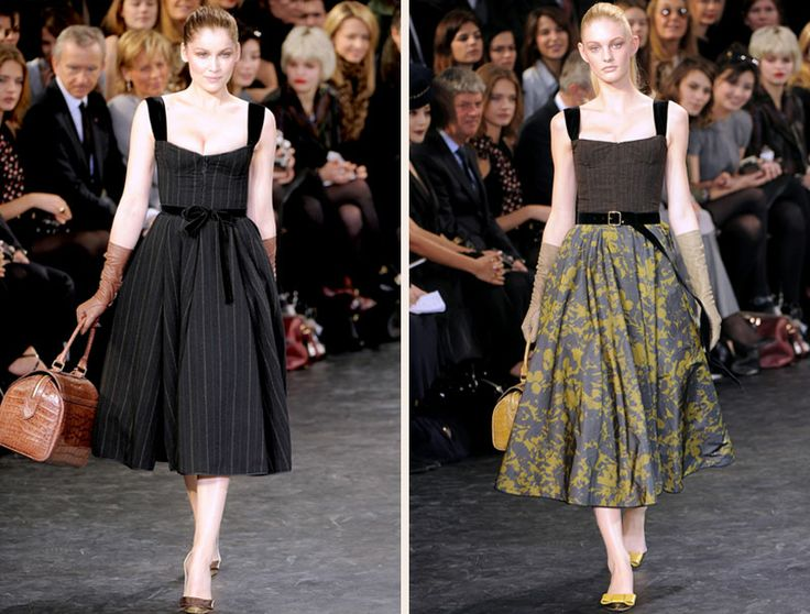 lv fall 2010 collection - hooray for longer lengths!