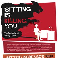 Sitting All Day Is Killing You (Infographic)