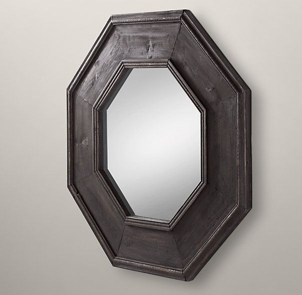 396 best images about for the home on pinterest modern for Restoration hardware round mirror