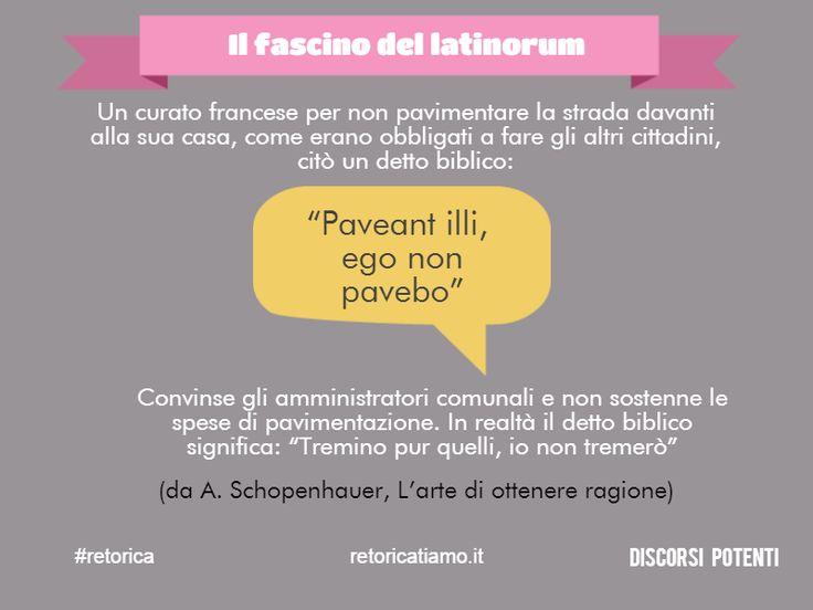 L'italienish di oggi è il latinorum di ieri? #retorica #discorsi