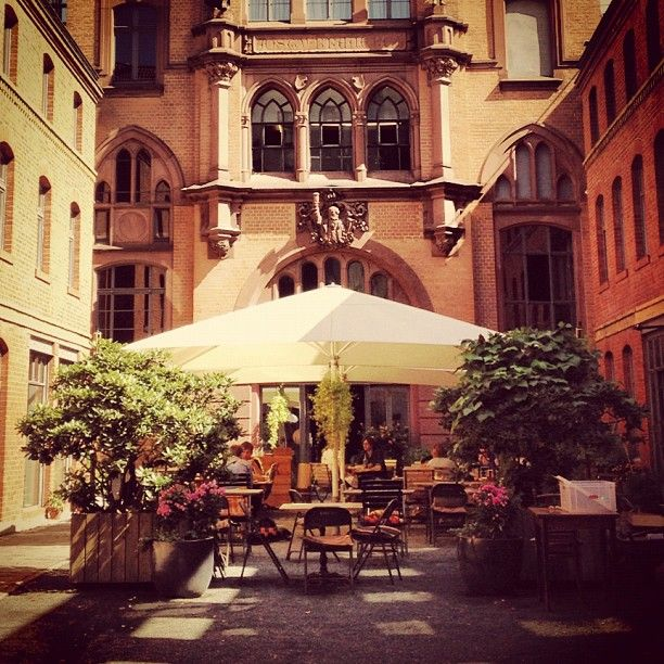 My favorite bar in Berlin. Katz Orange, Restaurant in Berlin-Mitte #berlin #katzorange http://www.katzorange.com/