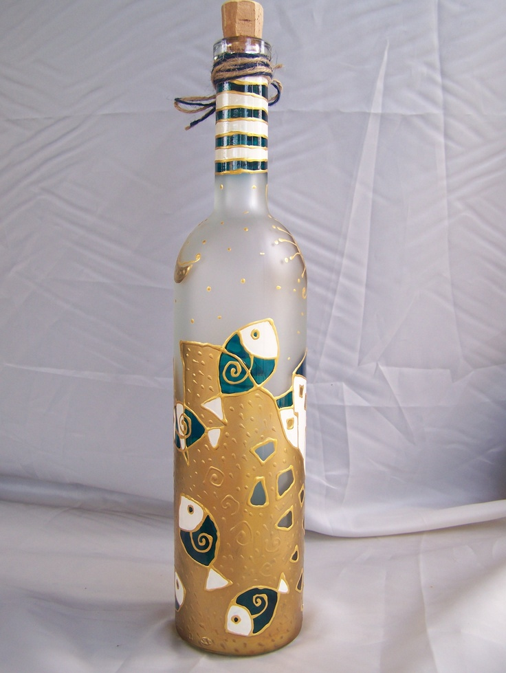 2557 best hand painted wine glasses and jars images on for Wine bottle glasses diy