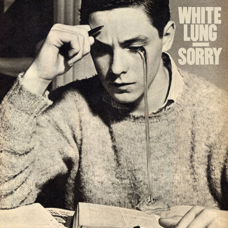 """White Lung """"Sorry"""" LP"""