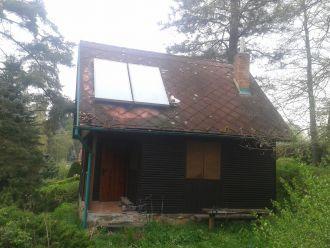 Solární ohřev vody Černovice u Tábora