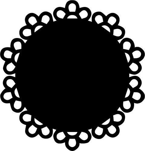 Doily 2 Free Svg Cut Files Silhouette Design