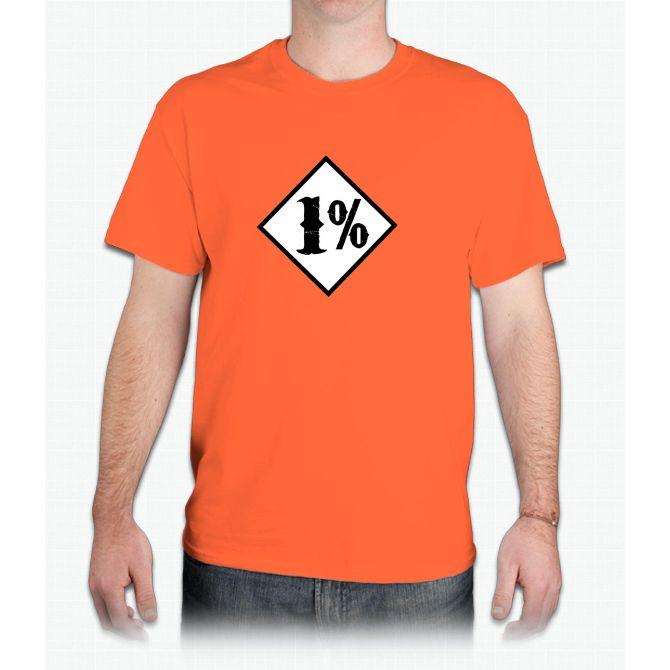 1 percenter - Mens T-Shirt