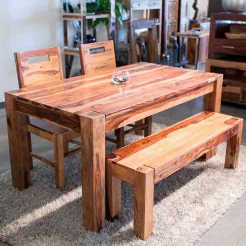 table à dîner Table à Dîner en bois de Rose de la collection Zen.