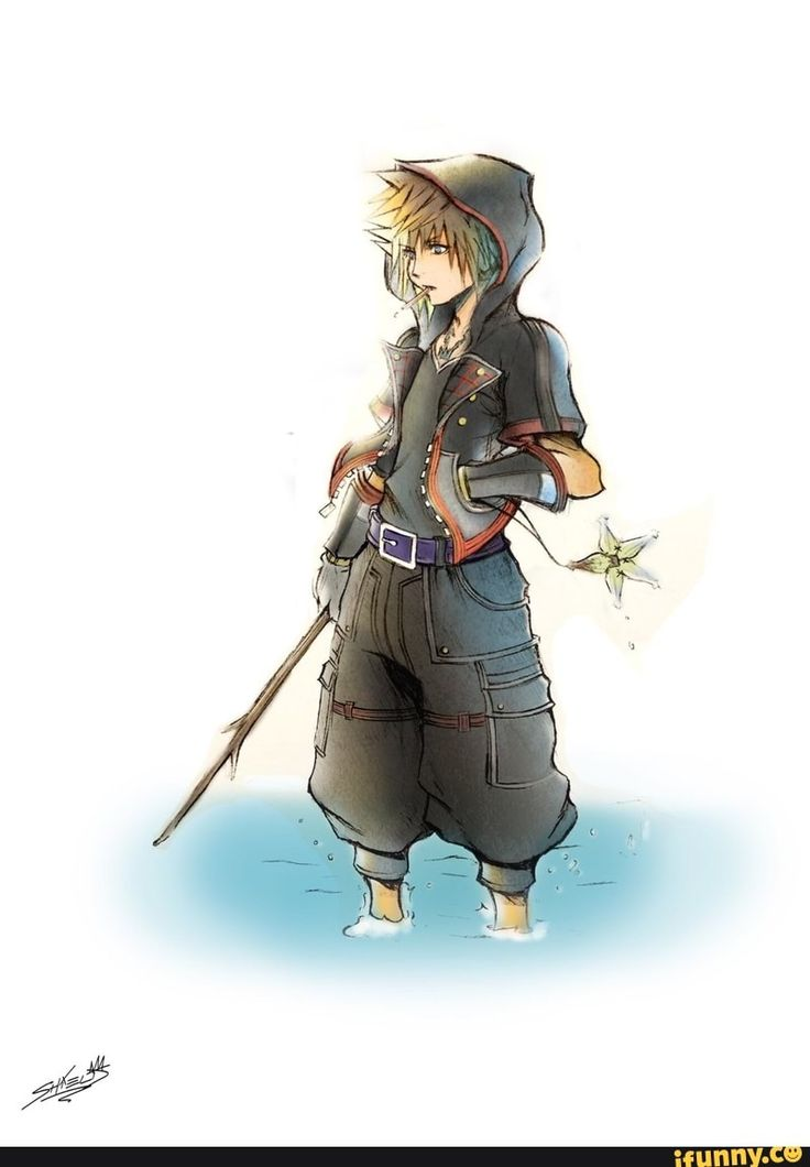 Kingdom Hearts III art. Sora the Master of Friendship. That same fantastic pin only colored!